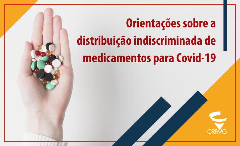 CRF/MG alerta prefeituras e autoridades de Saúde sobre kits para tratar Covid-19